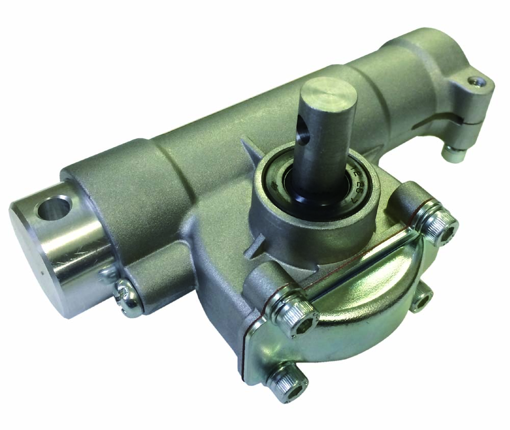 4.新設計「高減速・高トルク」ギヤBOX。防水仕様